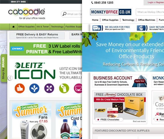 Caboodle & Monkey Office Ecommerce Case Study