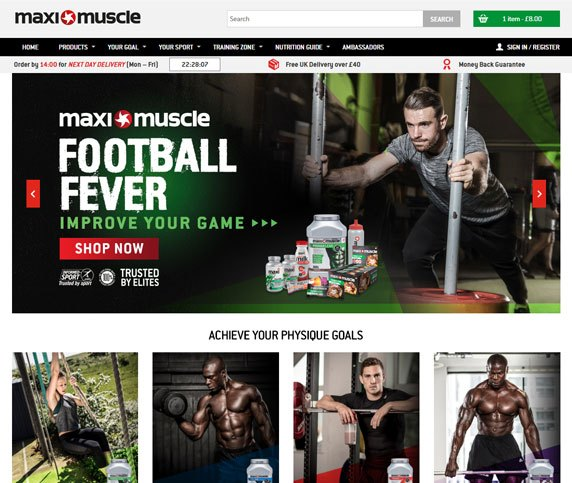 Maximuscle case study