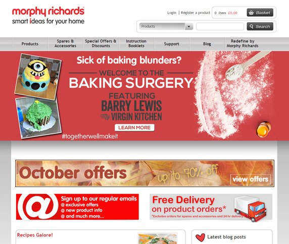 Morphy Richards Ecommerce Case Study
