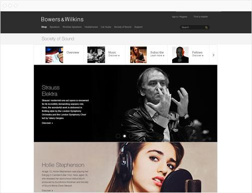 Bowers & Wilkins Society of Sound