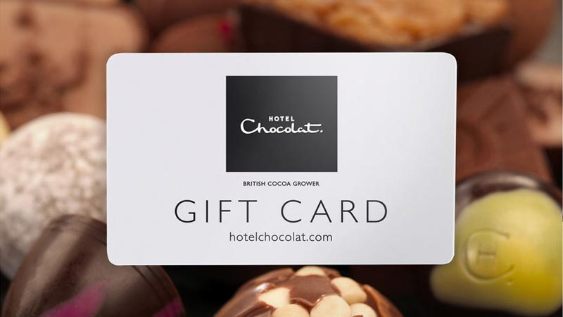 Hotel Chocolat giftcards