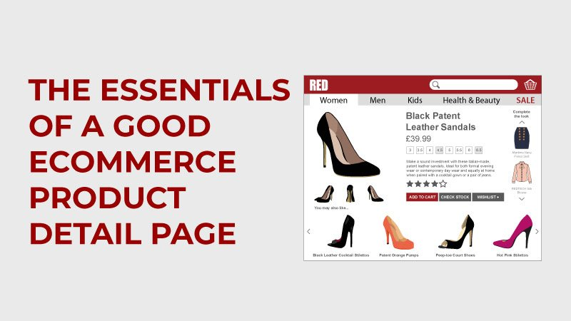 Essentials of a good product detail page