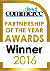 Direct Commerce Partnership of the Year Award Winner 2016